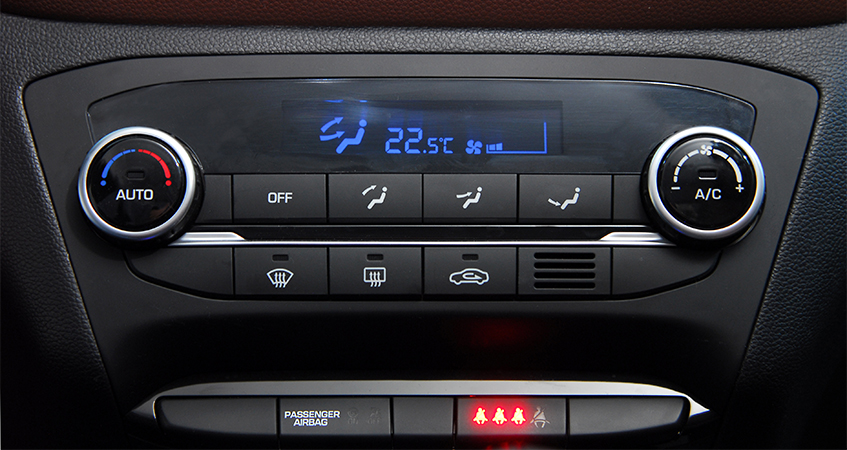 Car Air Conditioning Controls